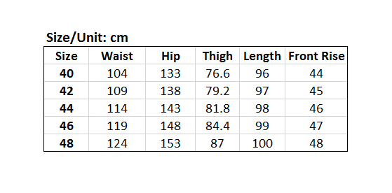 Picture of Simple 4/5 Plus Size Casual Pants