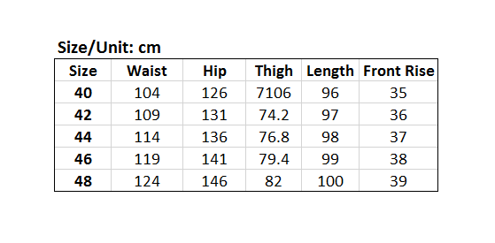Picture of Slim Fit Men's Plus Size Jeans