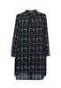 Picture of Checker Plus Size Shirt Dress