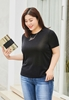 Picture of Irregular Botton Plus Size Tee