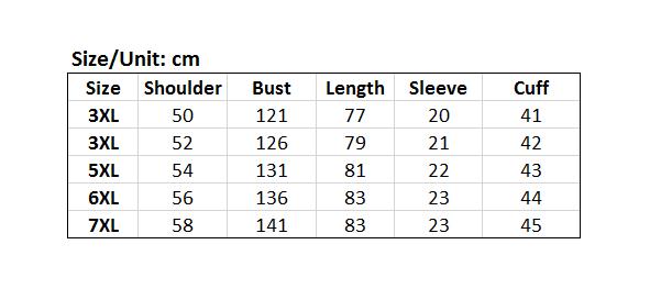 Picture of Around Collar Plus Size Men's Basic Tee