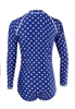 Picture of Long Sleeve Polka Dot Swimwear