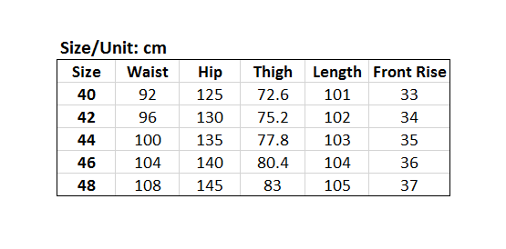 Picture of Elastic Waist Plus Size Men's Pants