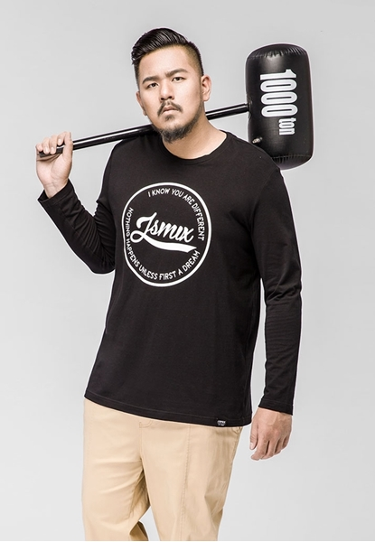 Picture of Front Print Long Sleeve T Shirt