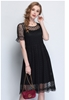 Picture of Dot Lace Plus Size Dress