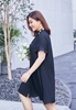 Picture of Collar Embroidery Flower Plus Size Dress