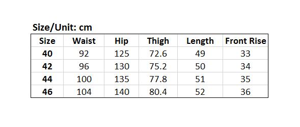 Picture of Elastic Waist Men's Plus Size Shorts