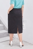 Picture of Front Button Plus Size Slim SKirt