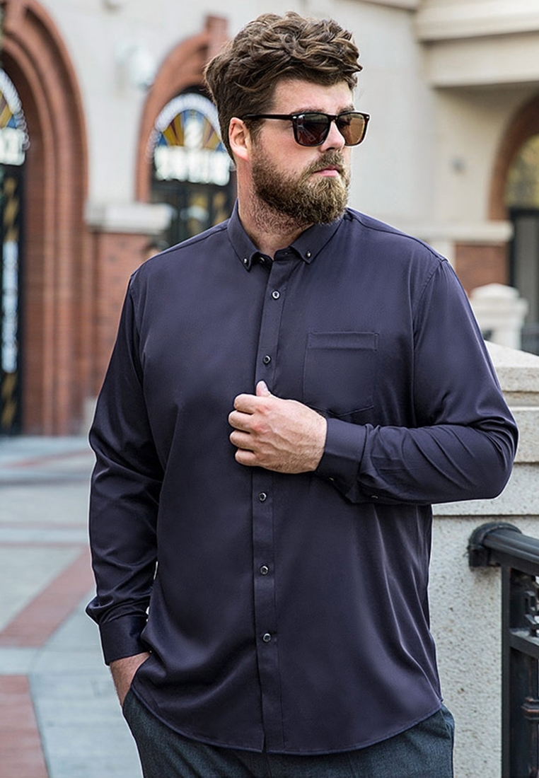 Picture of Long Sleeve Plus Size Business Shirt