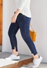 Picture of Special Cuff Plus Size Ladies Jeans