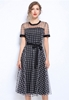 Picture of Plus Size Lattice Dress