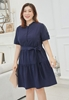 Picture of Retro Shoulder Lace Plus Size Dress