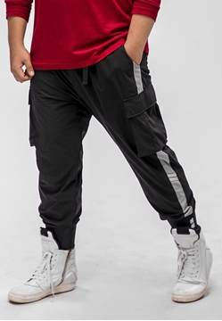 Picture of Dry Fit Plus Size Men Jogger Pants
