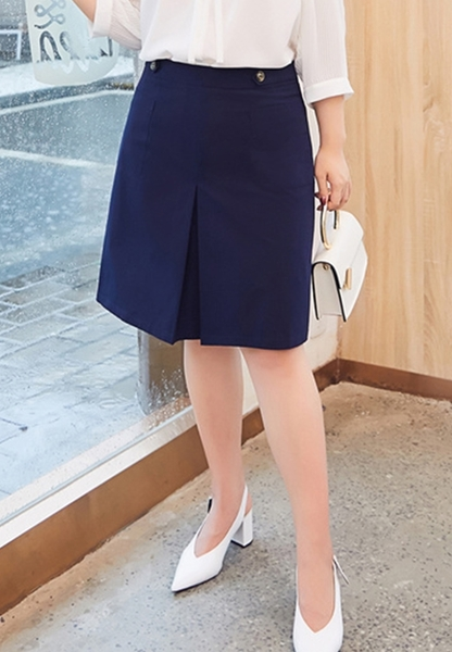 Picture of Plus Size OL SKirt