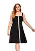 Picture of Plus Size Slim Waist Strap Dress