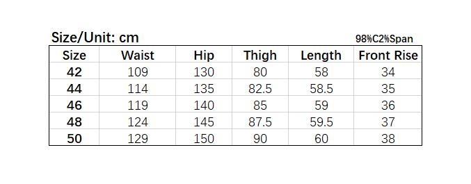 Picture of Plus Size Men Cotton Shorts