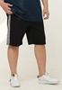 Picture of Side Stripe Plus Size Men Shorts